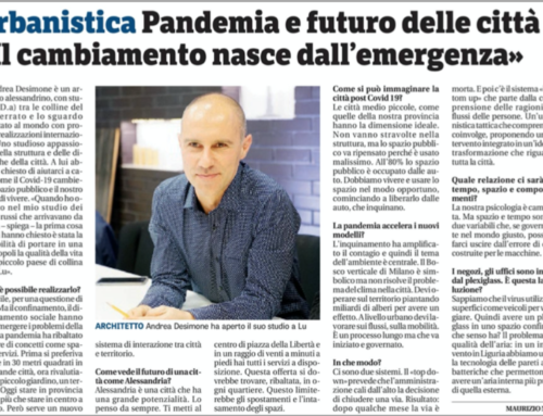 Il Piccolo – The Pandemic and the future of the cities